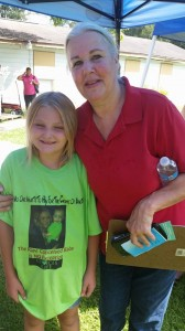 Briana in Challenge T-shirt