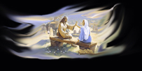 Jesus Forgiving Woman