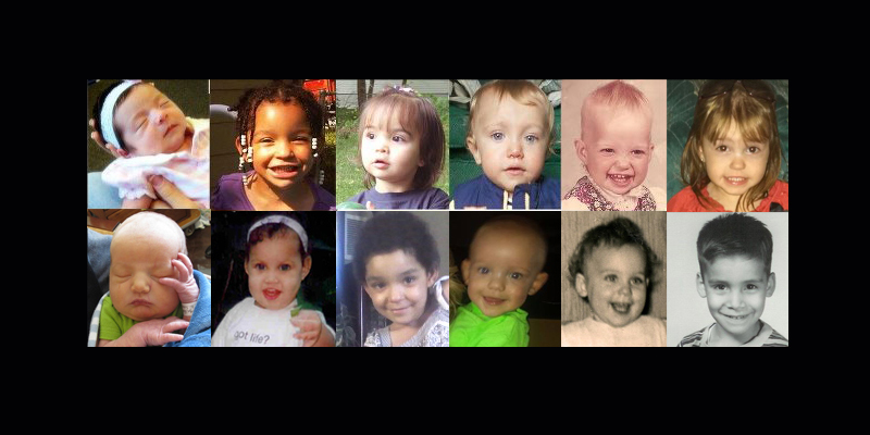 "These children would not be alive if their mothers believed in ""exceptions"" for abortion."