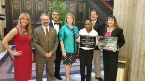 South Carolina Press Conference on Rape Exceptions        with Senator Bright