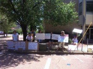 Abortion Advocates Protest Mothers