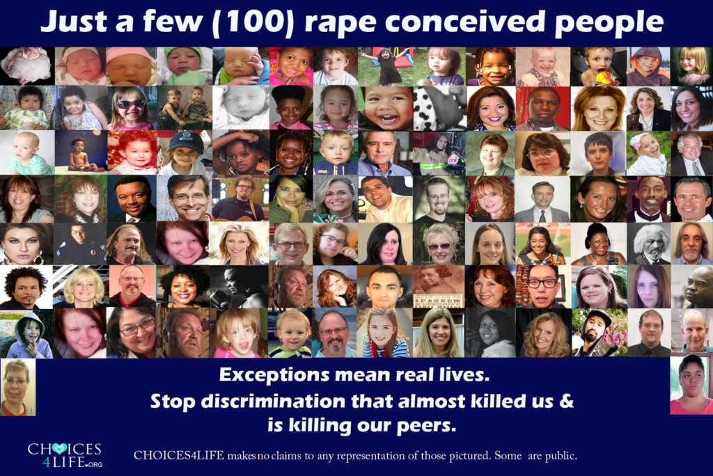 100 Faces of Rape Conceived